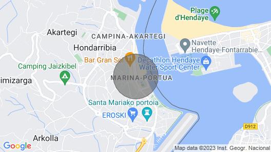 Fabulous 3 Bedroom Apartment, in the Famous Neighborhood of La Marina. Ess2385 Map
