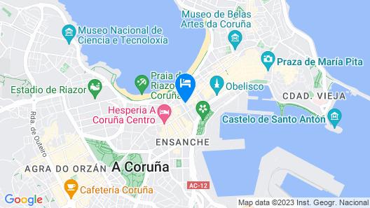 Hotel Maycar Map