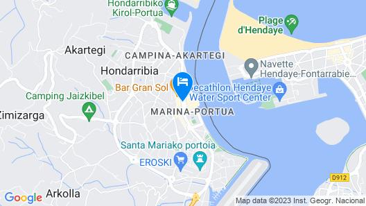 Hotel Sercotel Jáuregui Map