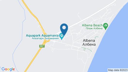Primasol Ralitsa AquaClub - All Inclusive Hotel Map