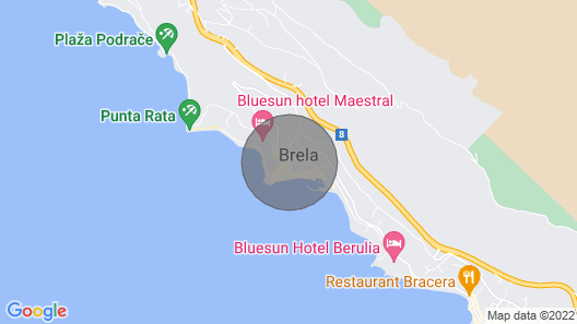 Apartment 2 + 3, sea View Map
