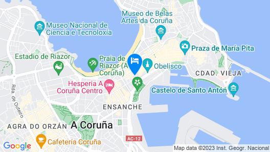 Hotel Santa Catalina by Bossh Hotels Map