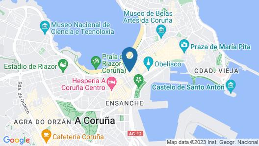Hotel Nido Map