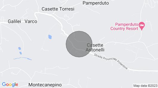 Villa Panperduto Map