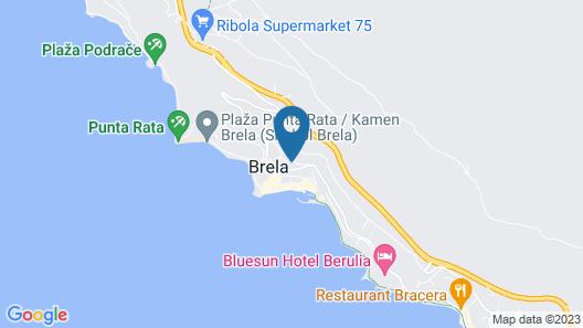 Apartment Juric Map