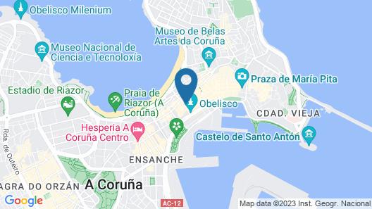 Hostal Carbonara Map