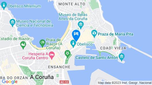 Hostal Mara Map