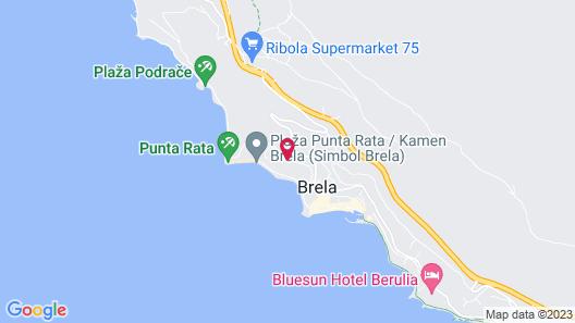 Bluesun Hotel Marina Map