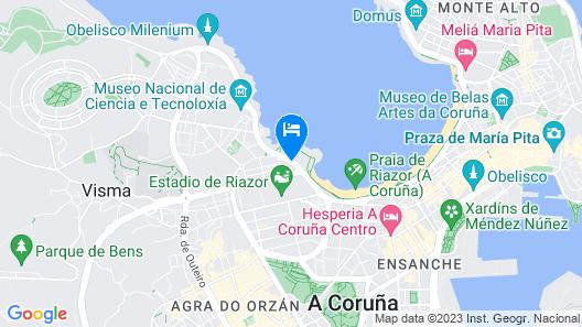 Hotel Mar del Plata Map
