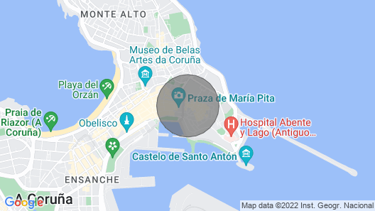 Brand new Flat / Loft at 50m From Maria Pita and Puerto Map