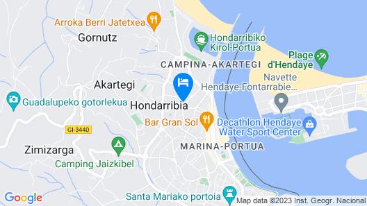 Sokoa - Basquenjoy Map