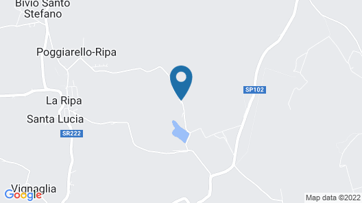 Le Rocche di Valiano Map