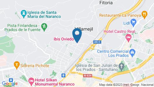 ibis Oviedo Map