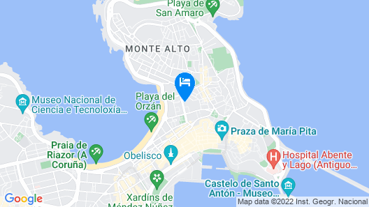 DoubleTree by Hilton A Coruna, Spain Map