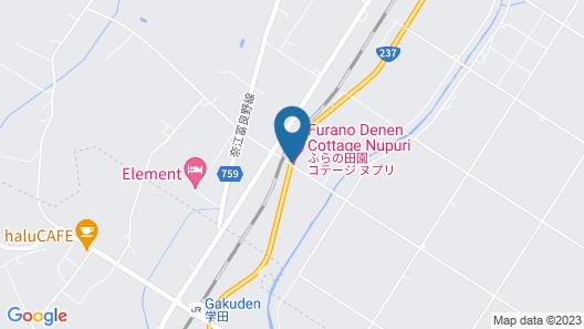 FURANO DENEN COTTAGE NUPURI Map