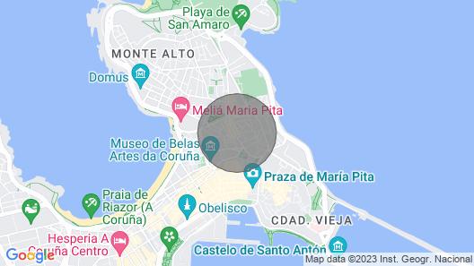 Downtown La Torre Apartment I Map