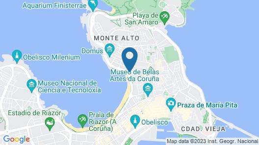 Melia Maria Pita Map