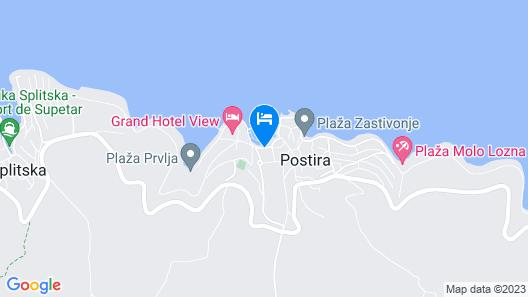 Hotel Lipa Map