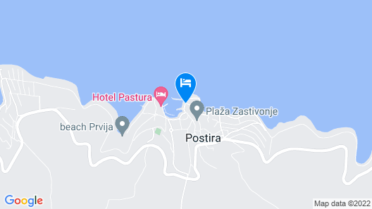Hotel Vrilo Map