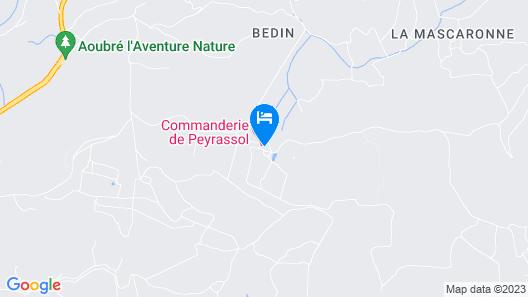 Commanderie de Peyrassol Map