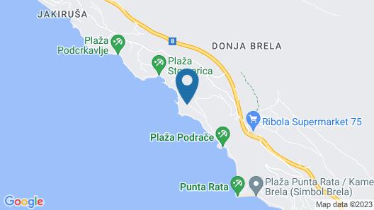 Apartments Bikin Map