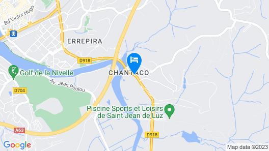 Hotel Chantaco Golf & Wellness Map