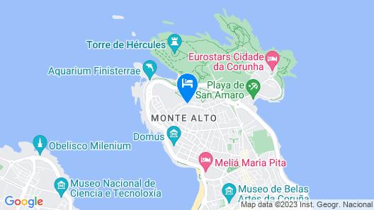 Blue Ocean Penthouse Map