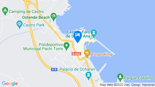 Castro Sun And Beach Map