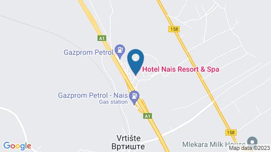Hotel Nais Map