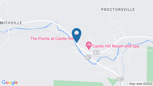 Castle Hill Resort And Spa Map