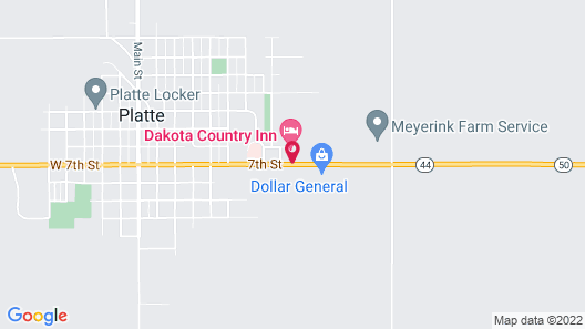 Dakota Country Inn & Suites Map