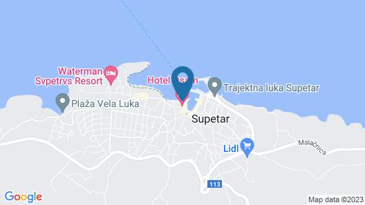 Hotel Osam Map