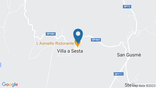 Villa di Sotto Map