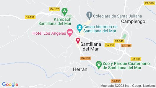 Apartamentos Capriccio Map