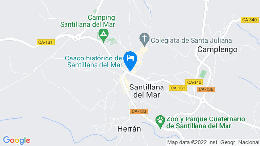 Hotel Museo Los Infantes Map