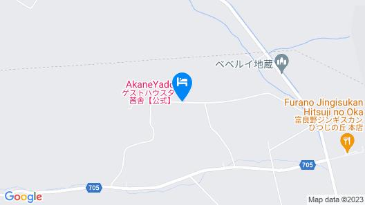 Guesthouse Akane-yado Map