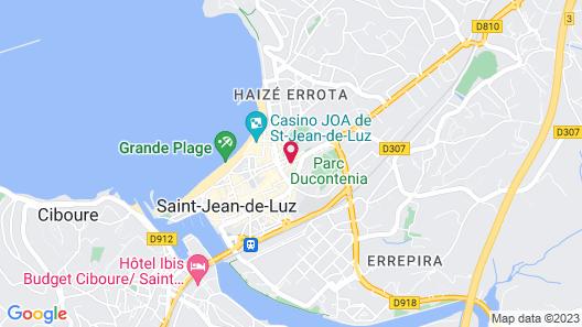 Grand Hôtel de la Poste Map