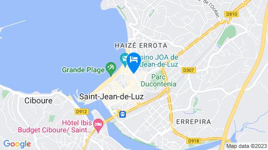 Madison Saint Jean de Luz Map