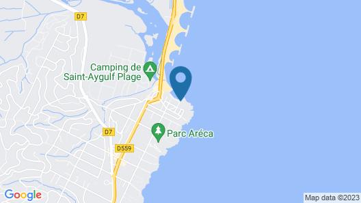Villa Marouette Map