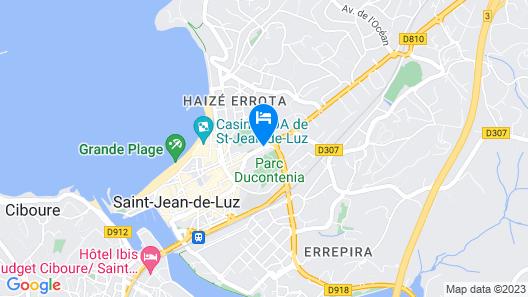 Pierre & Vacances Résidence Eguzki Map