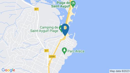 Van der Valk Hotel Saint Aygulf Map