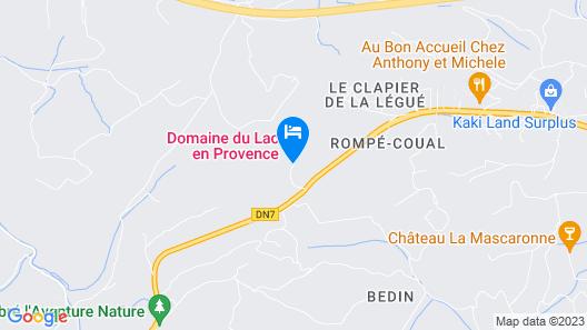 Domaine du Lac Map