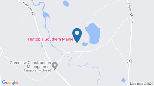 Huttopia Southern Maine Map