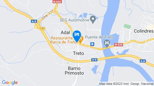 Hotel Las Ruedas Map