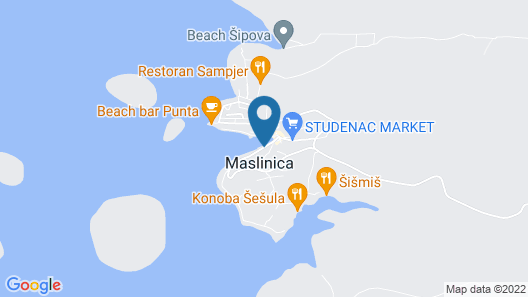 Hotel Martinis Marchi Map