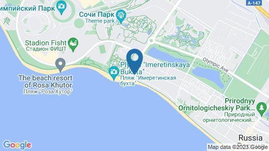MODART Hotel Map