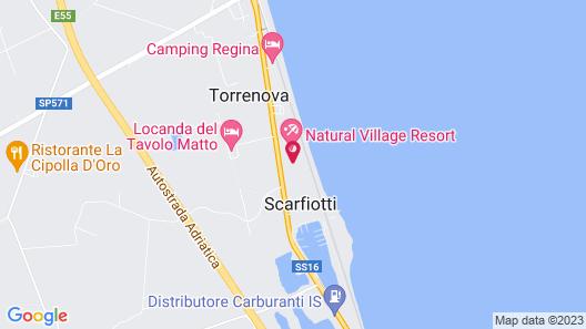 Natural Village Resort Map