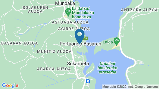 Camping & Bungalows Portuondo  Map
