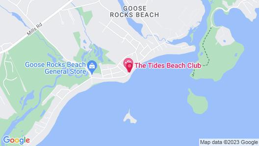 The Tides Beach Club Map