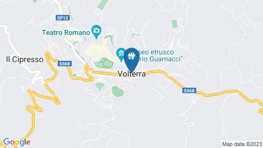 Casa Volaterra Map